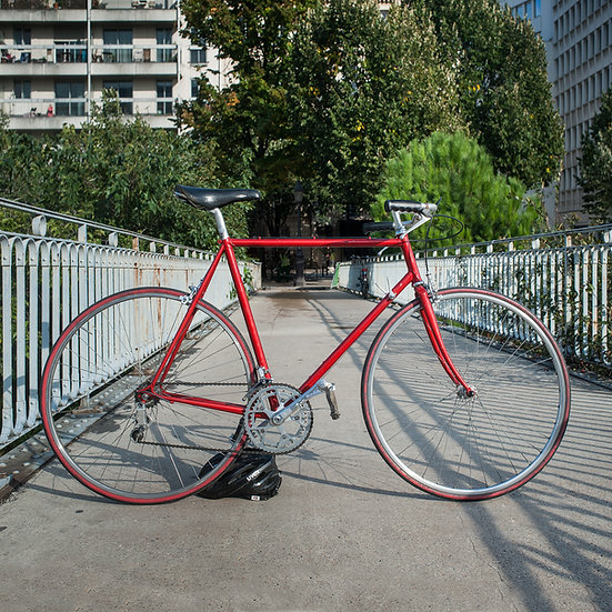 Vélo artisanal La Roue d'Or