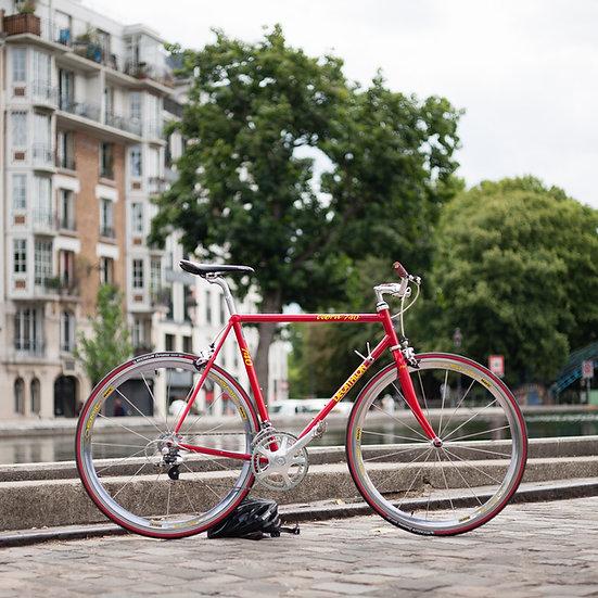 Vélo Décathlon Cobra 740 sur base Vitus 792