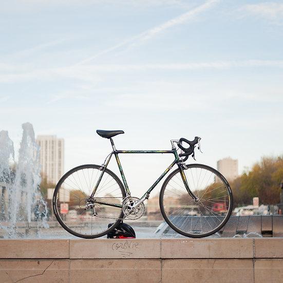 Vélo artisanal Paris-Tours