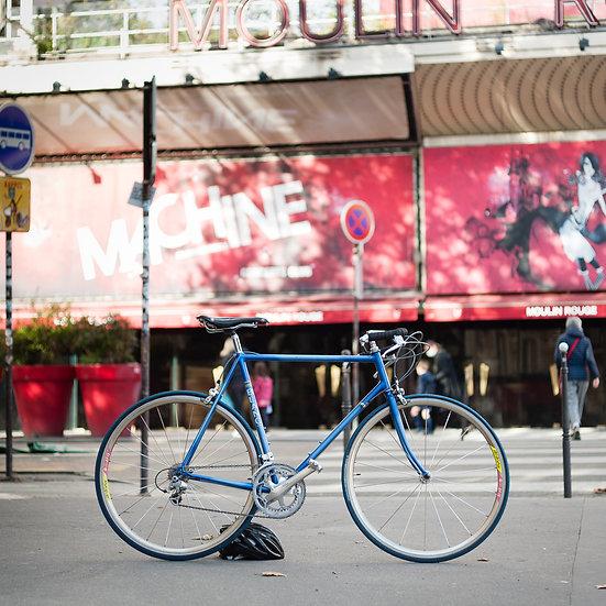 Vélo artisanal stické Michel Blanc