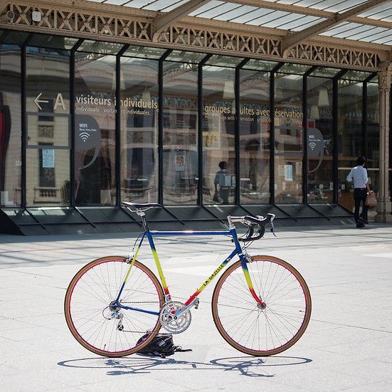 Vélo artisanal La Gazelle par Paris-Tours