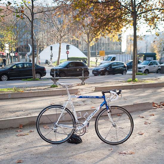 Vélo sur mesure Gitane - Française des Jeux de Fabrizio Guidi