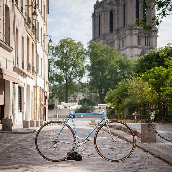 Vélo artisanal stické Jean Bruno