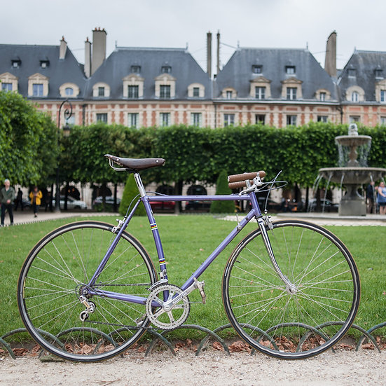 Vélo artisanal Alain Michel
