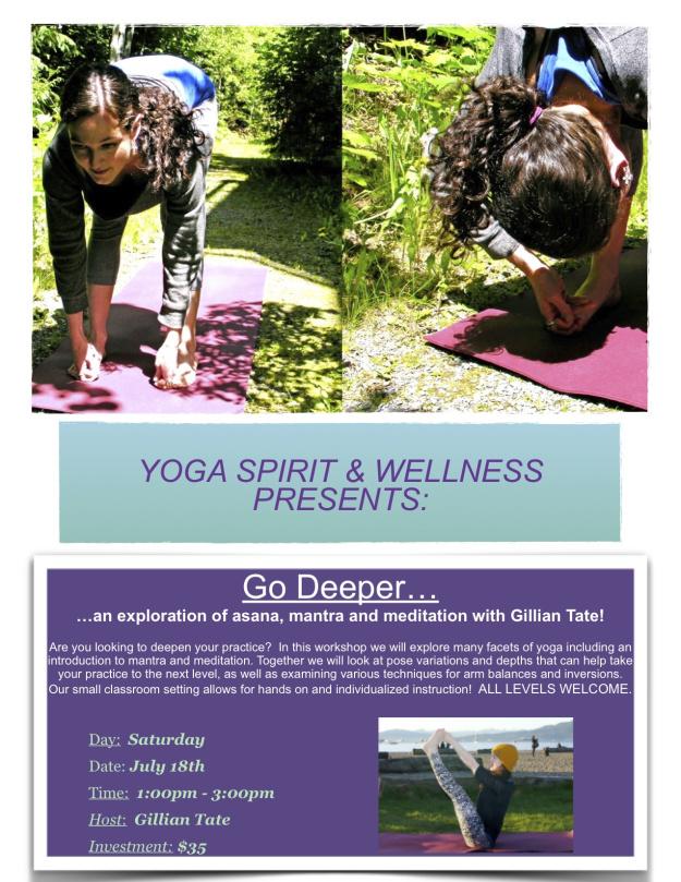 Go Deeper Yoga