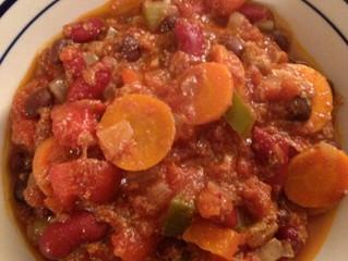 Spicy vegan chili