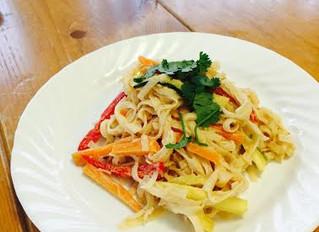 Simple & Delicious Vegan Pad Thai