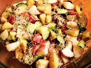 Delicious, dairy-free potato salad!