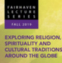 Fairhaven Lecture Series - Fall 19 logo.