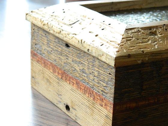 wormy wood jewelry box