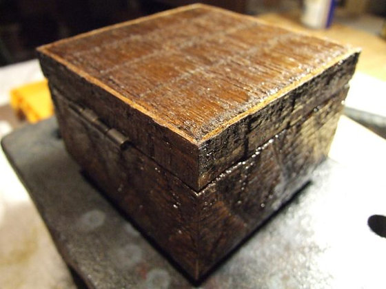 reclaimed wood box