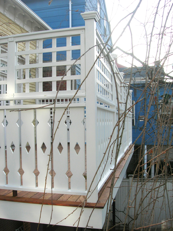 ornamental deck ballusters