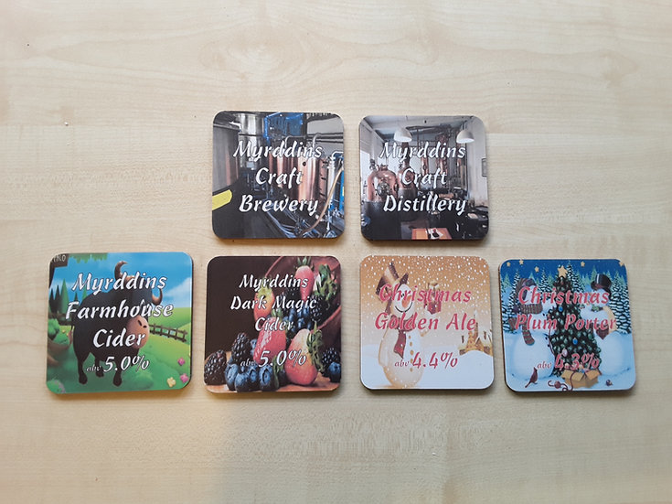 Coasters - Craft Brewery