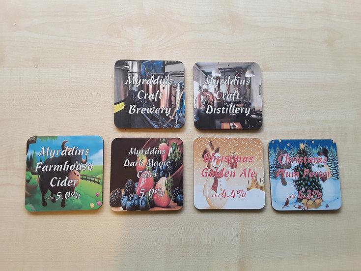 Coasters - Craft Brewery
