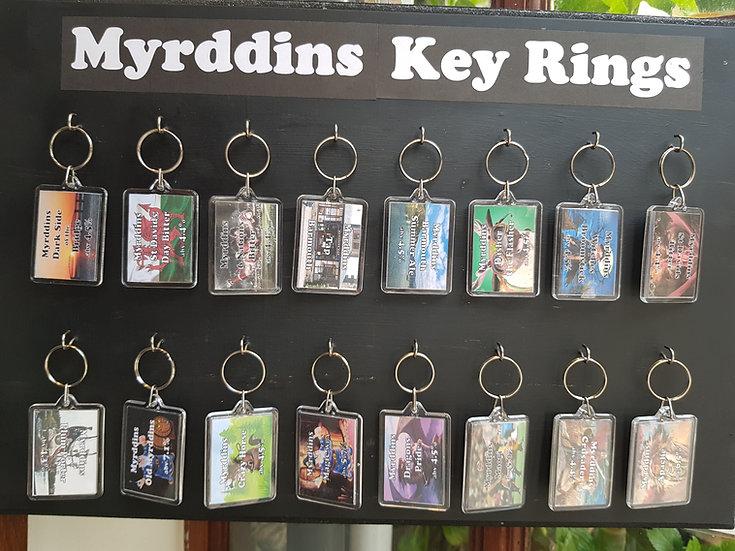 Myrddins Key Rings