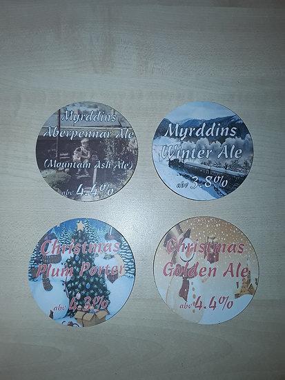Round Coasters - Aberpennar