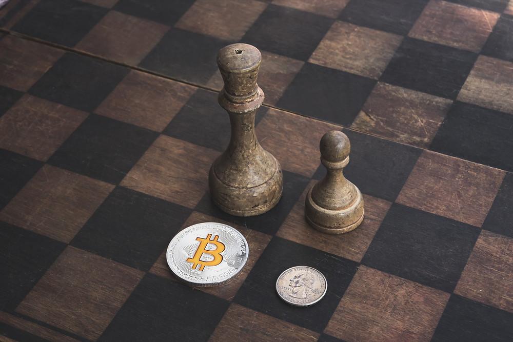 bitcoin dollar chessboard