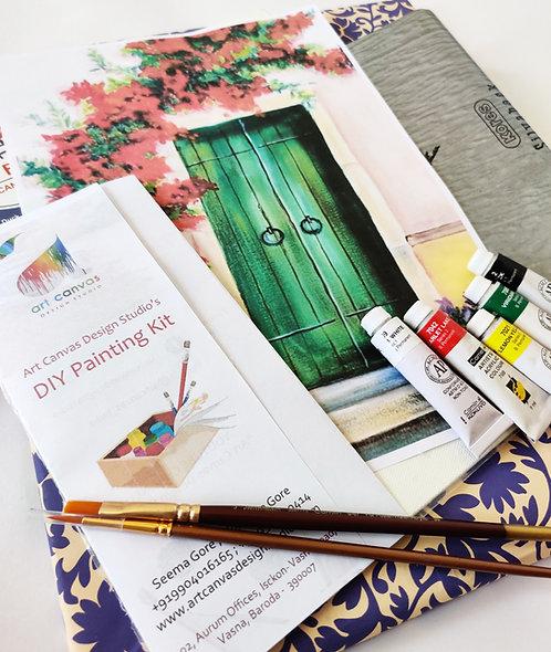 DIY KIT - Green Door (Medium)