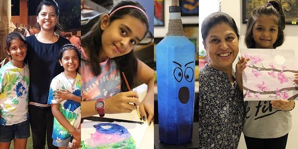 Kids Paint Party Workshop