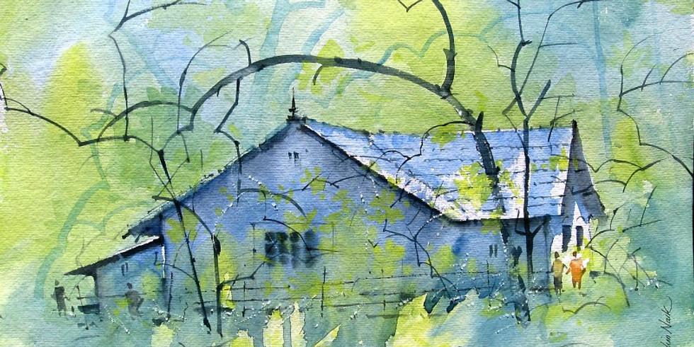 Online - Watercolor Painting Workshop