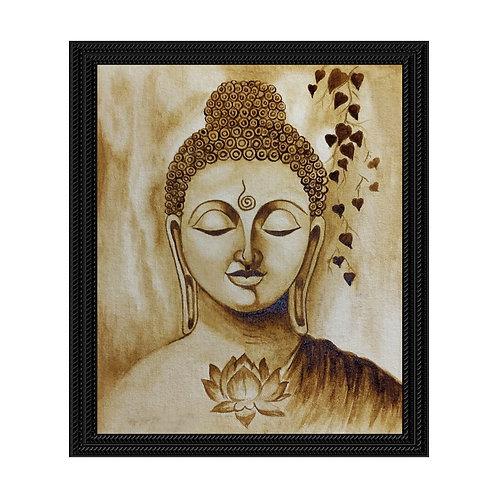 Buddha - Coffee Painting