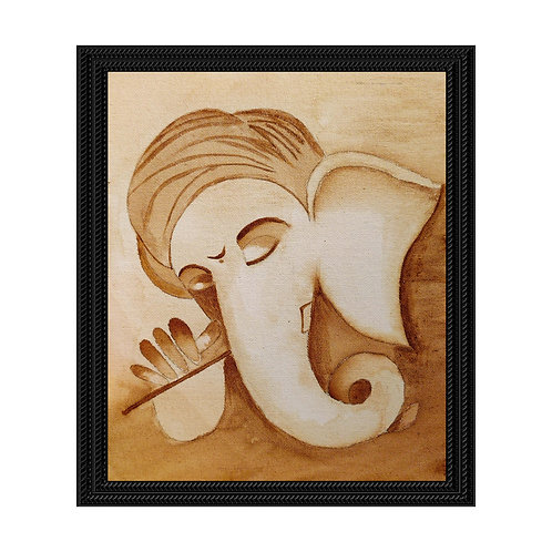 Ganesha - Coffee Painting