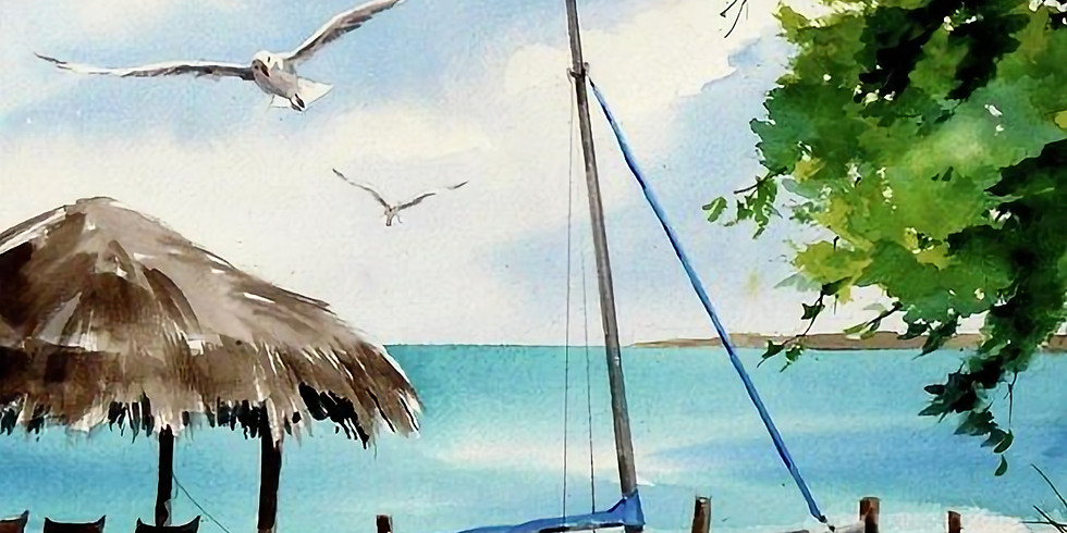 Online - Water Color Painting Workshop (Morning Batch)