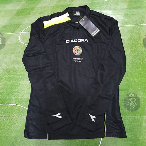 Camiseta Arbitro Femenino CSF Manga Larga Negro
