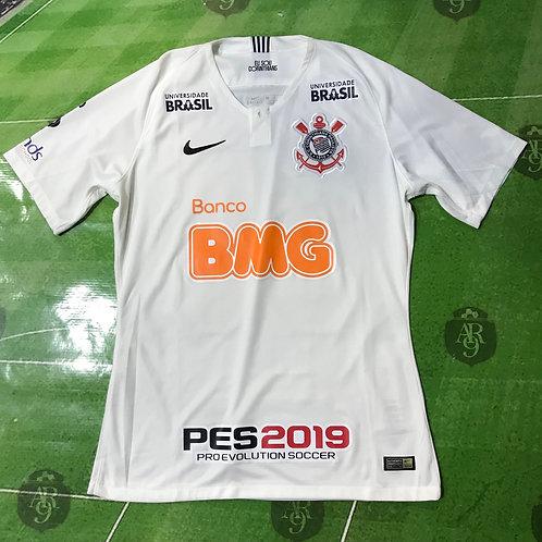 Camiseta de Juego Corinthians 2018/19 Titular