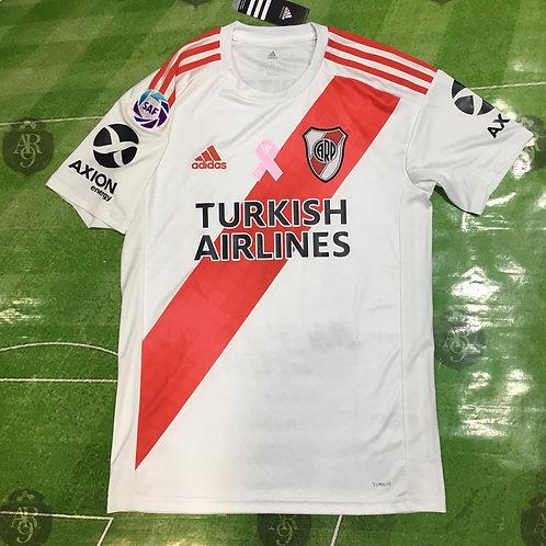Camiseta River Plate Titular 2019/21 Parche Cancer
