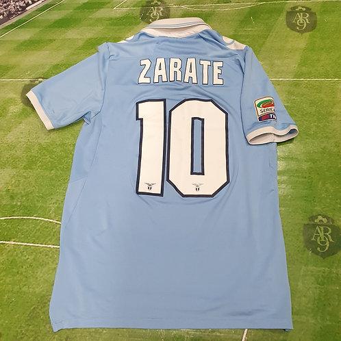 Camiseta Titular Lazio 2012/13 #10 Mauro Zarate
