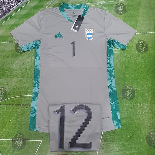 Camiseta Arquero AFA JJOO 2020 vs Egipto