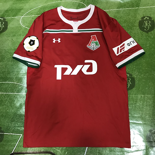 Camiseta Lokomotiv Moscú 2018/19