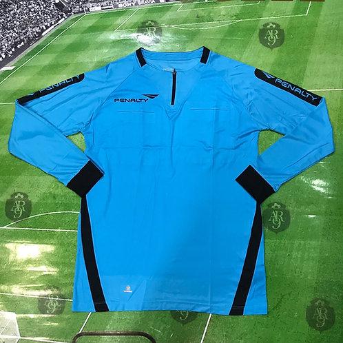 Camiseta Arbitro Penalty Azul Manga Larga