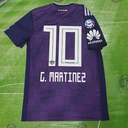 Camiseta Alternativa River Plate 2018 #10 G. Martinez