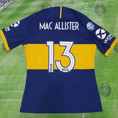 Camiseta Titular Boca Juniors 2019 #13 Mac Allister