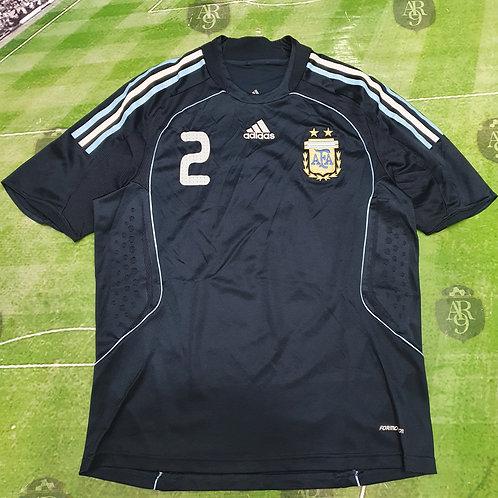 Camiseta Alternativa AFA Formotion 2008/09 #2
