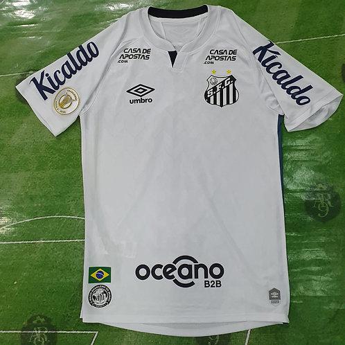 Camiseta Titular Santos 2020 #4 Pará