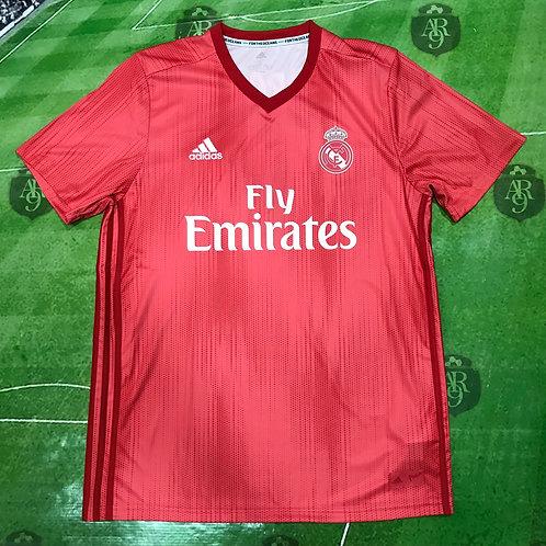 Camiseta Real Madrid Alternativa Salmon 2018/19