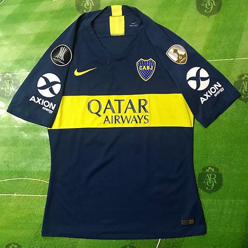 Camiseta Boca Juniors 2018 Titular Copa Libertadores Slim Fit