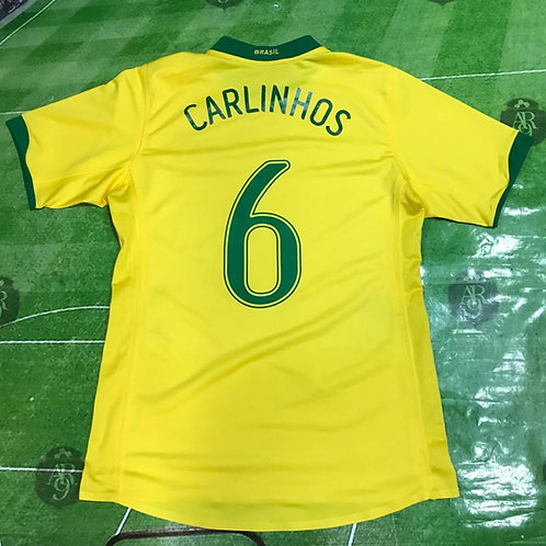 Camiseta Brasil  2007 #6 Carlinhos