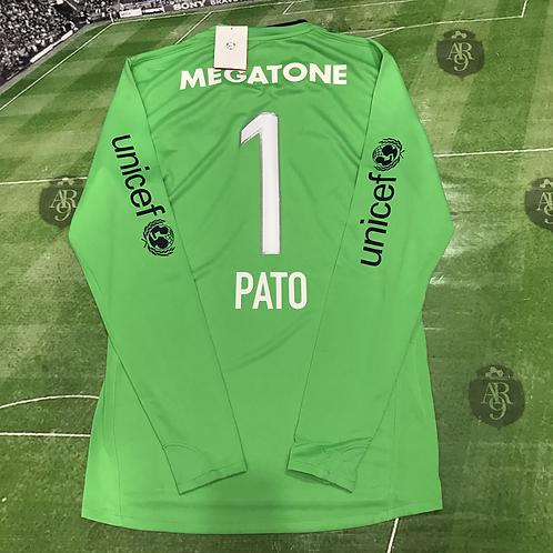 Camiseta Arquero Verde Boca Juniors 2008 #1 Pato Abbondanzieri