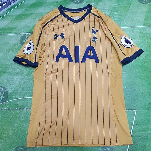 Camiseta Alternativa Tottenham Hotspur 2016/17 #11 Lamela