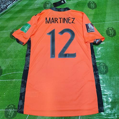 Camiseta Arquero AFA Eliminatorias Qatar 2022 #12 Martinez