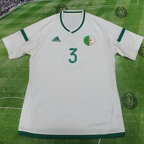 Camiseta Alternativa Algeria 2016/17 #3 Abdellaoui