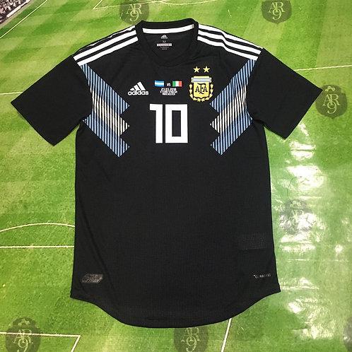 Camiseta AFA 2018 Alternativa Versión Juego vs Italia