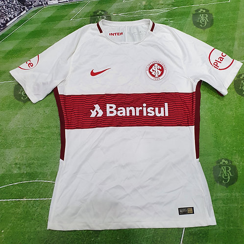 Camiseta Alternativa Internacional de Porto Alegre 2017/18 #15 V. Cuesta