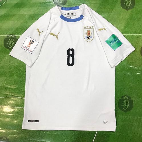 Camiseta Uruguay Mundial Rusia 2018 Alternativa