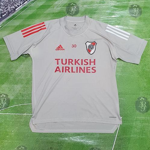 Camiseta Entrenamiento River Plate 2020 Gris