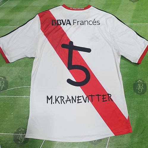 Camiseta Titular River Plate Ana Vives 2013 #5 Kranevitter